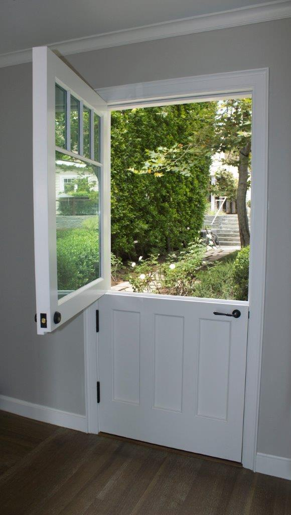 Broad Beach Dutch door inside